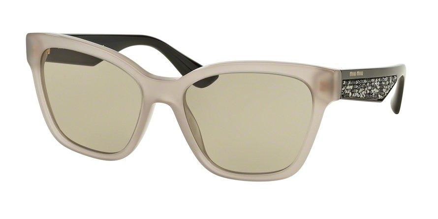 MU 0MU 06RSA Light Brown Sunglasses