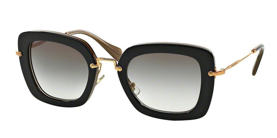 MU 0MU 07OS Black Sunglasses