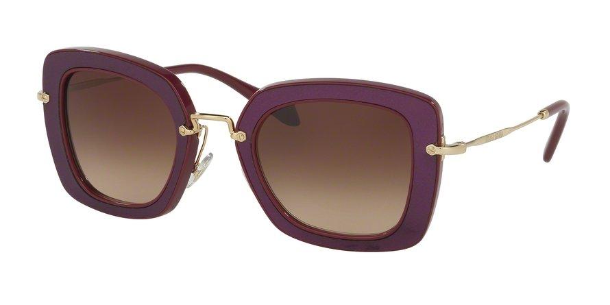 MU 0MU 07OS Bordeaux Sunglasses