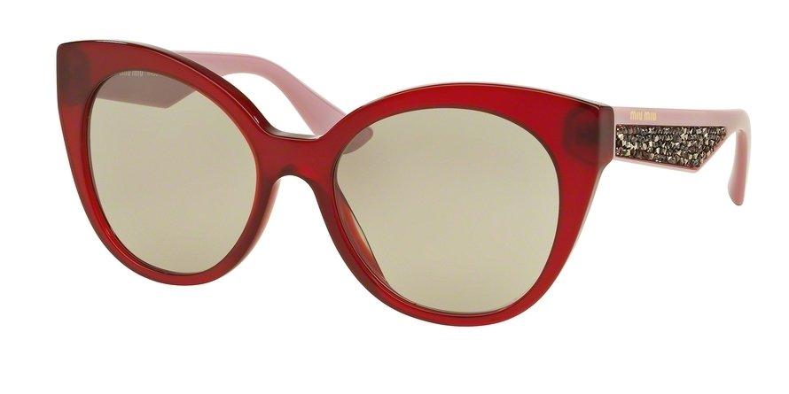 MU 0MU 07RSA Bordeaux Sunglasses