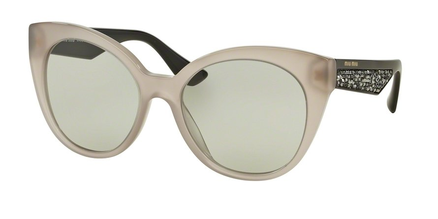 MU 0MU 07RSA Light Brown Sunglasses