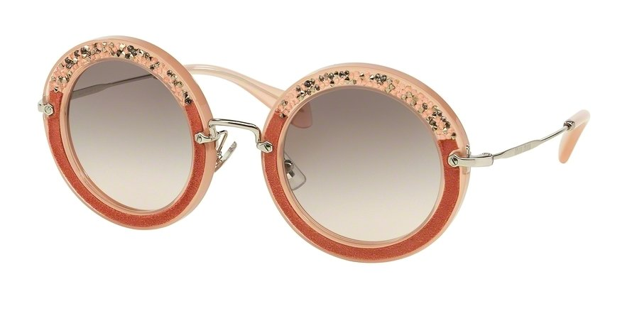 MU 0MU 08RS Pink Sunglasses