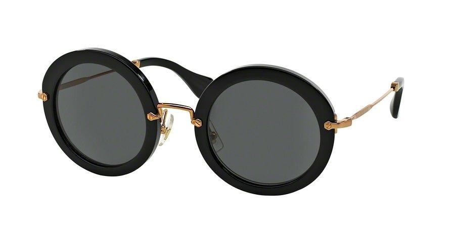 MU 0MU 13NS Black Sunglasses