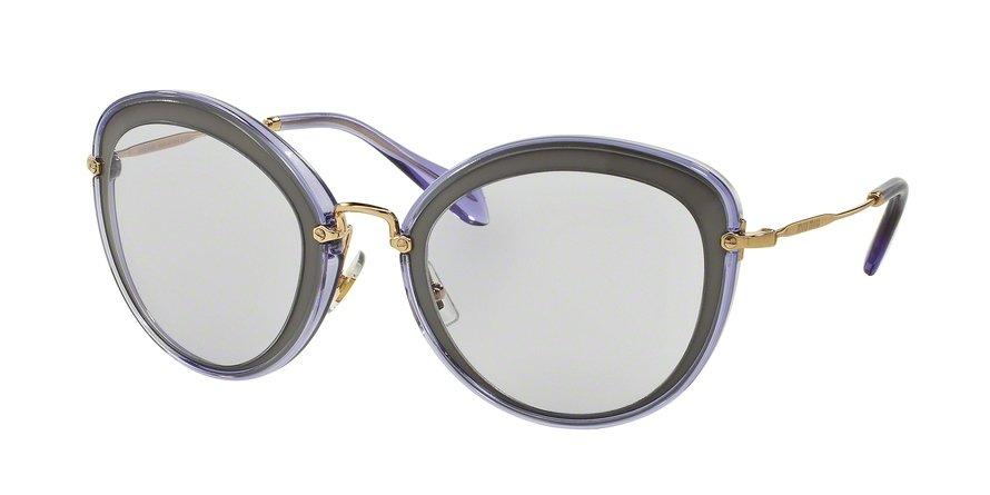 MU 0MU 50RS Grey Sunglasses