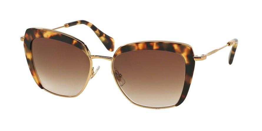 MU 0MU 52QS Havana Sunglasses