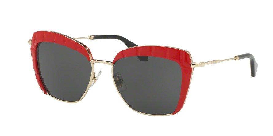 MU 0MU 52QS Red Sunglasses