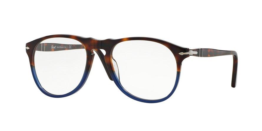 Persol 0PO9649V Havana Eyeglasses