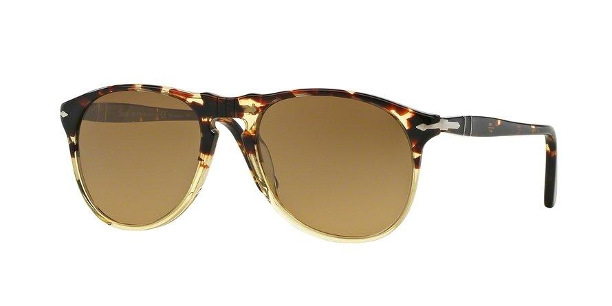 Persol 0PO9649S Havana Sunglasses