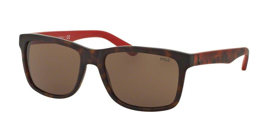 Polo 0PH4098 Havana Sunglasses