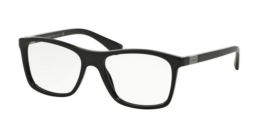 Prada 0PR 05SV Black Eyeglasses