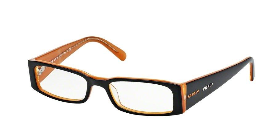 Prada 0PR 10FV Black Eyeglasses