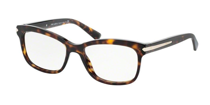 Prada 0PR 10RV Havana Eyeglasses