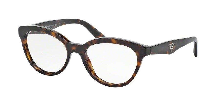 Prada 0PR 11RV Havana Eyeglasses