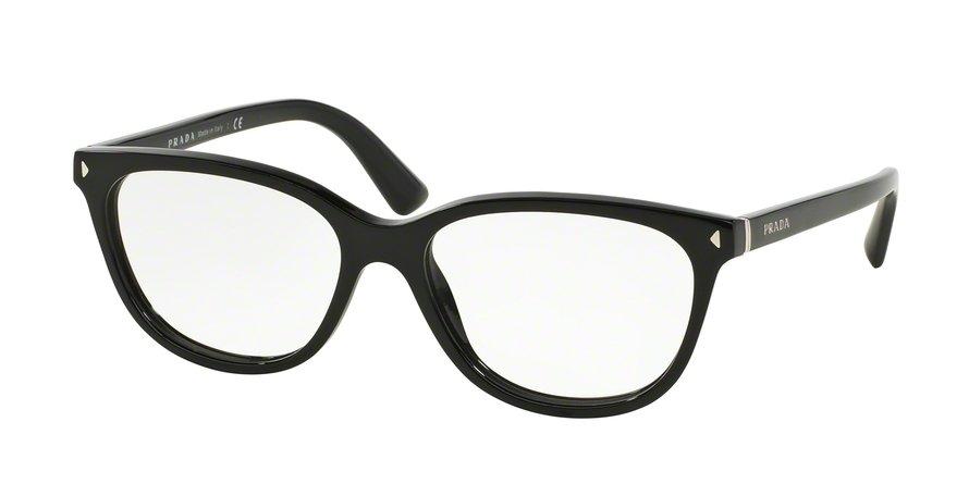 Prada 0PR 14RV Black Eyeglasses