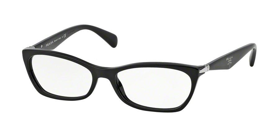 Prada 0PR 15PV Black Eyeglasses