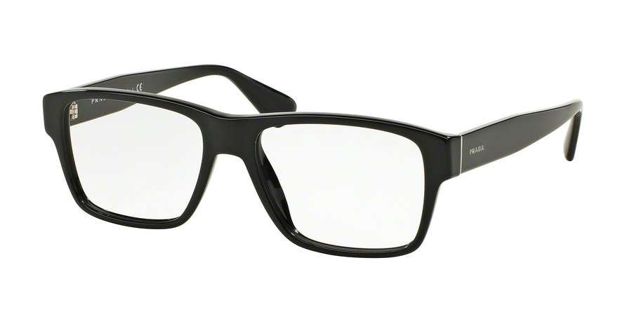 Prada 0PR 17SVF Black Eyeglasses