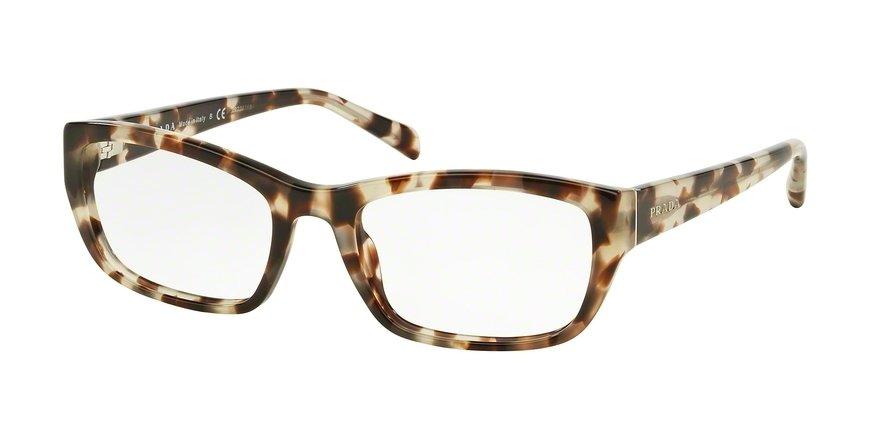 Prada 0PR 18OVA Brown Eyeglasses