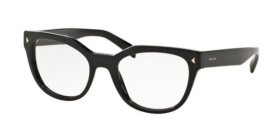 Prada 0PR 21SVF Black Eyeglasses