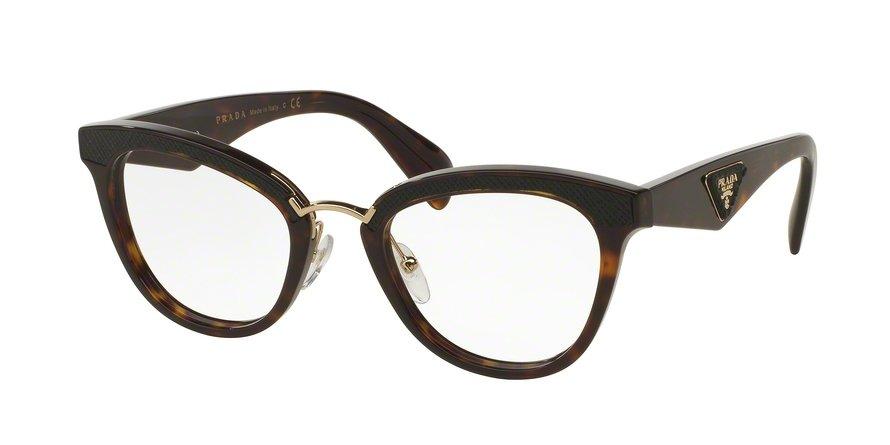 Prada 0PR 26SV Havana Eyeglasses