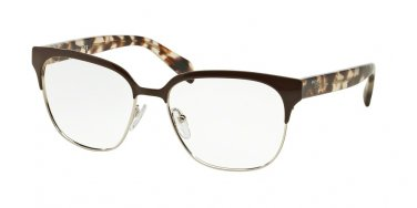 Prada 0PR 54SV Brown Eyeglasses