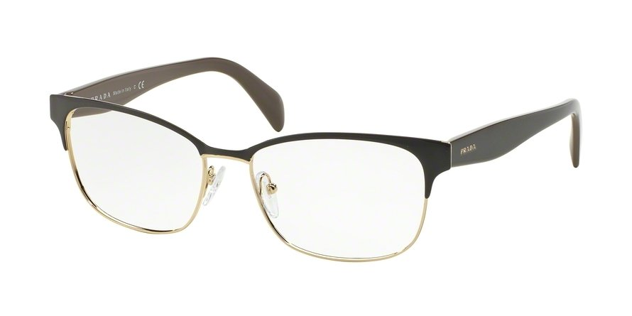 Prada 0PR 65RV Brown Eyeglasses