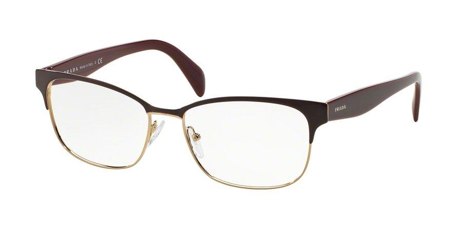 Prada 0PR 65RV Bordeaux Eyeglasses