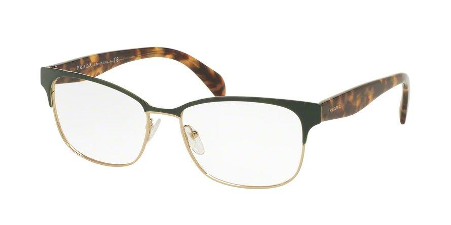 Prada 0PR 65RV Gold Eyeglasses