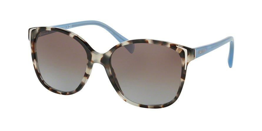 Prada 0PR 01OS Brown Sunglasses