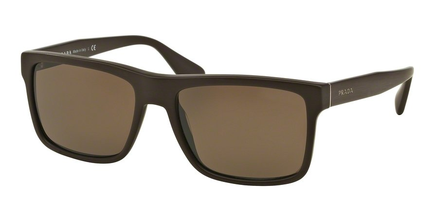 Prada 0PR 01SS Brown Sunglasses