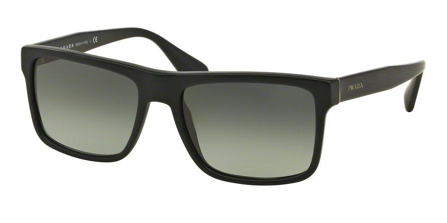 Prada 0PR 01SSF Black Sunglasses