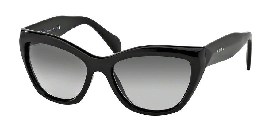 Prada 0PR 02QS Black Sunglasses