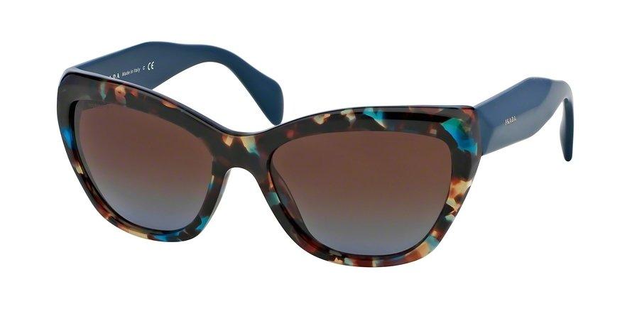 Prada 0PR 02QS Blue Sunglasses