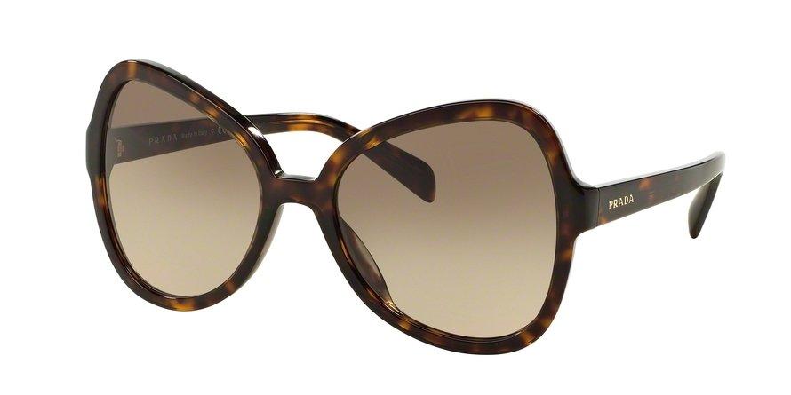 Prada 0PR 05SSF Havana Sunglasses
