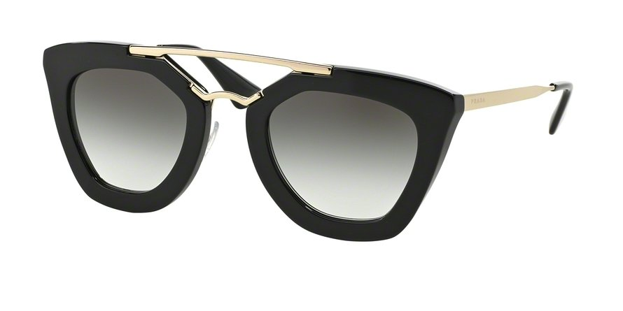 Prada 0PR 09QS Black Sunglasses