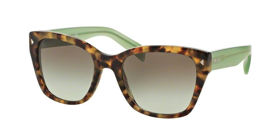 Prada 0PR 09SS Green Sunglasses