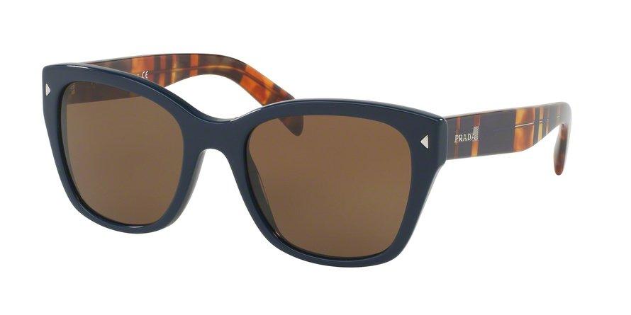 Prada 0PR 09SSF Blue Sunglasses