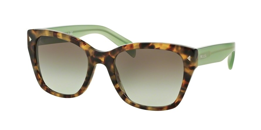 Prada 0PR 09SSF Green Sunglasses