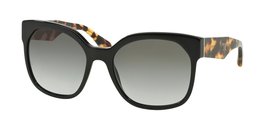 Prada 0PR 10RS Black Sunglasses