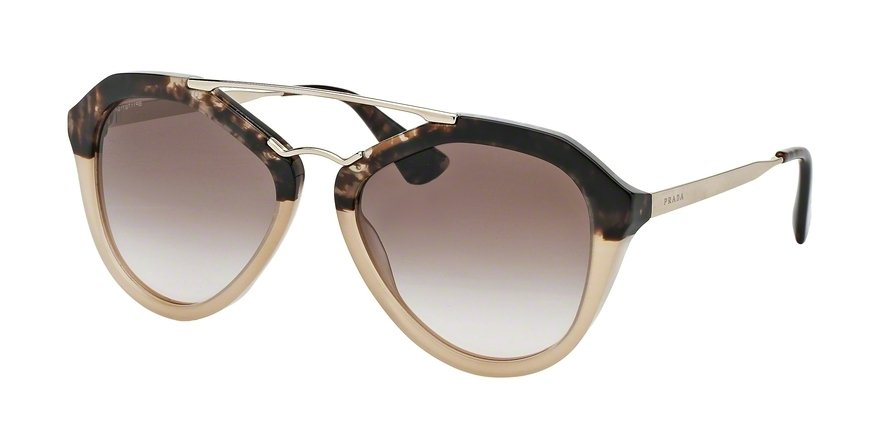 Prada 0PR 12QS Brown Sunglasses