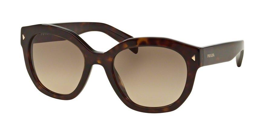 Prada 0PR 12SSF Havana Sunglasses