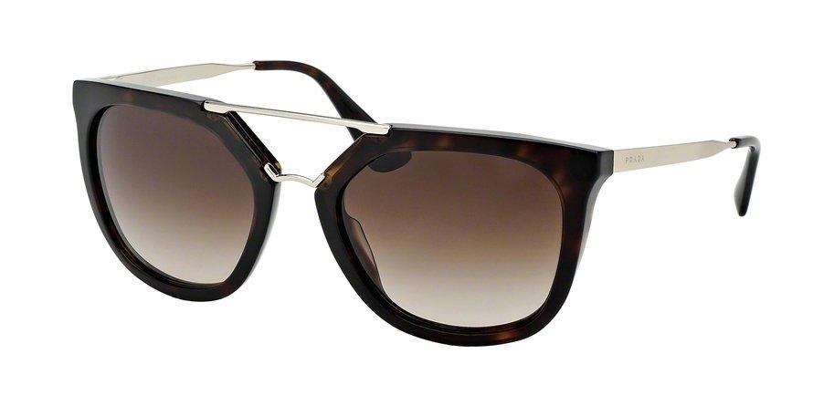 Prada 0PR 13QS Havana Sunglasses