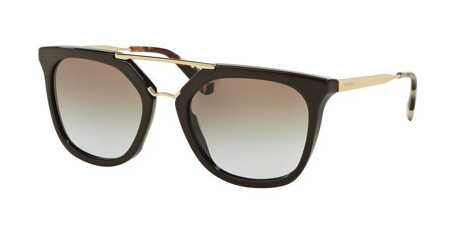 Prada 0PR 13QS Brown Sunglasses