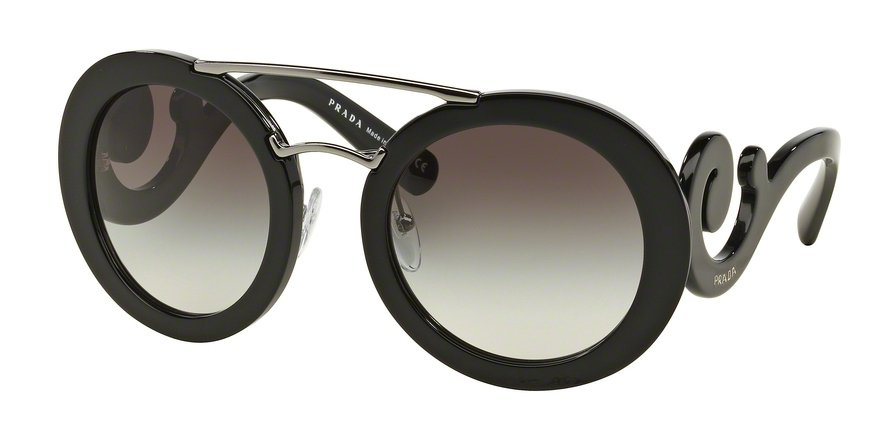 Prada 0PR 13SS Black Sunglasses