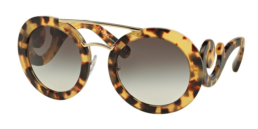 Prada 0PR 13SS Havana Sunglasses