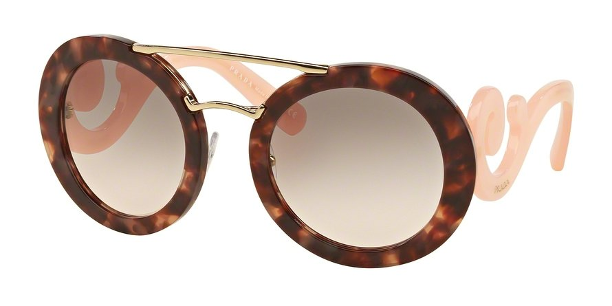 Prada 0PR 13SS Pink Sunglasses