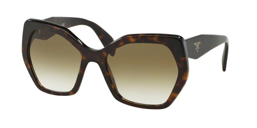 Prada 0PR 16RSF Havana Sunglasses