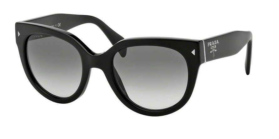 Prada 0PR 17OS Black Sunglasses