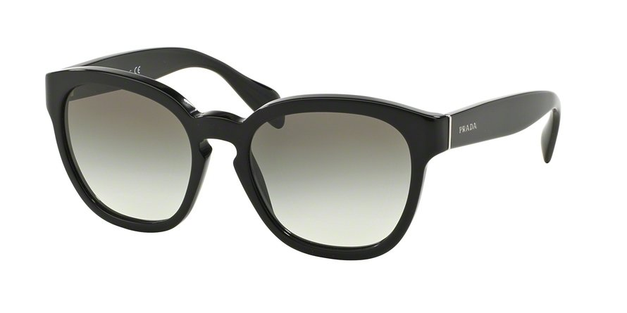 Prada 0PR 17RS Black Sunglasses