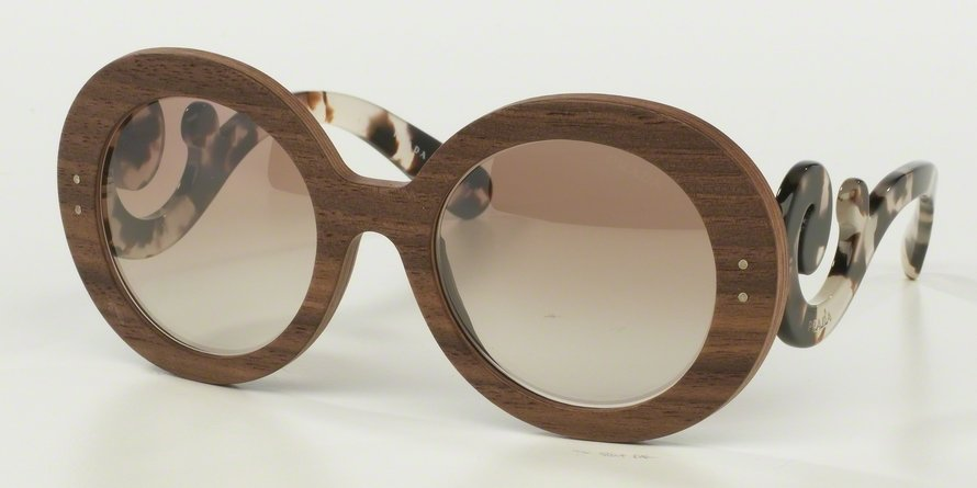 Prada 0PR 27RSF Light Brown Sunglasses