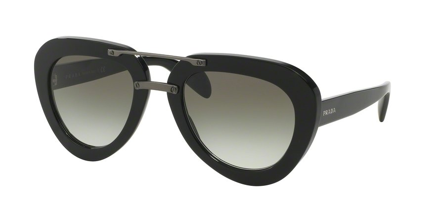Prada 0PR 28RS Black Sunglasses